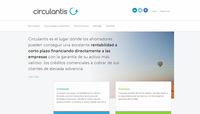 Imagen de la plataforma www.Circulantis.Com