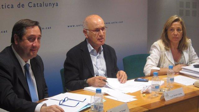 Josep Maria Pelegrí, Josep Antoni Duran y Joana Ortega
