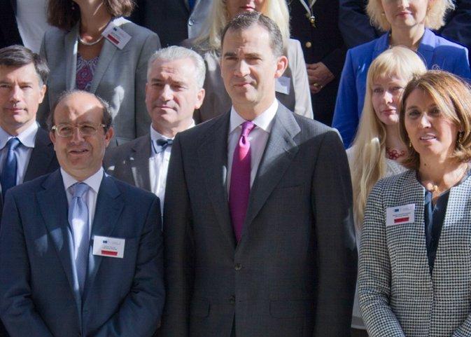 El Príncipe Felipe agradece el apoyo que recibe día a día de los españoles