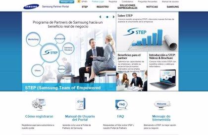 Samsung lanza el portal STEP para sus socios