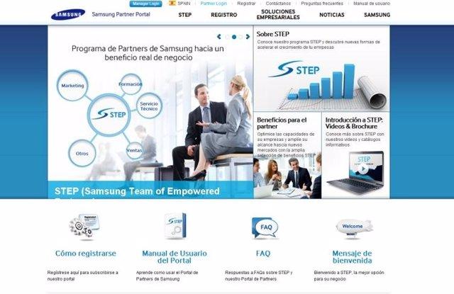 Samsung lanza el portal STEP para sus Partners