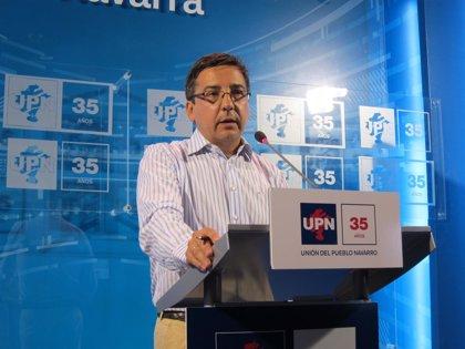 """UPN apoyará en el Congreso la ley de abdicación y critica los """"debates oportunistas"""" sobre la monarquía"""