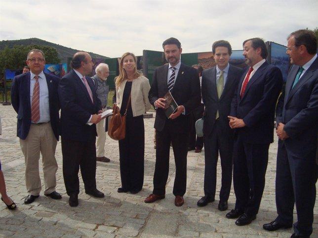 Representantes de administracionesa antes de constituirse el Patronato.