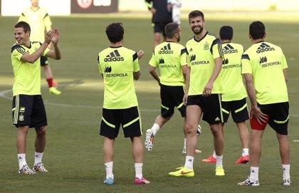 España completa el primer entrenamiento en Curitiba