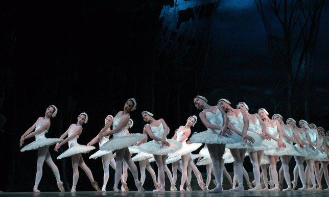 El ballet 'El lago de los cisnes'