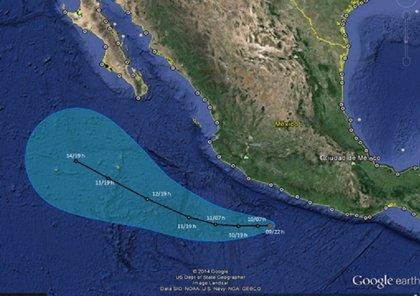 Se forma la tormenta tropical 'Cristina' en el Pacífico mexicano