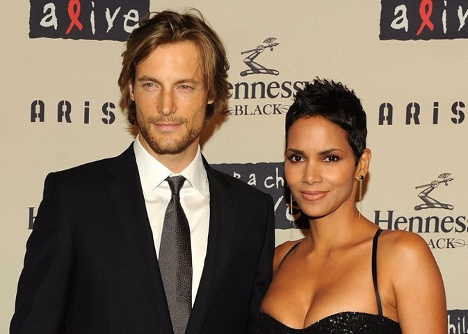 Gabriel Aubry and girlfriend actress Halle Berry
