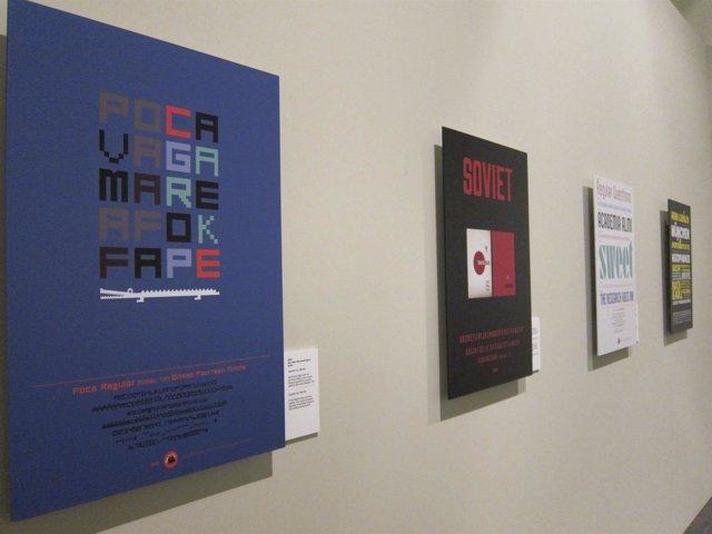 Exposición de tipografía en el MuVIM