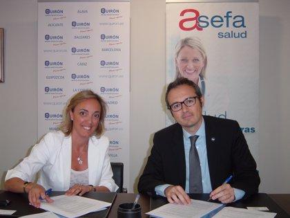 Asefa Seguros firma un convenio con el Grupo Hospitalario Quirón para la atención en salud a sus asegurados