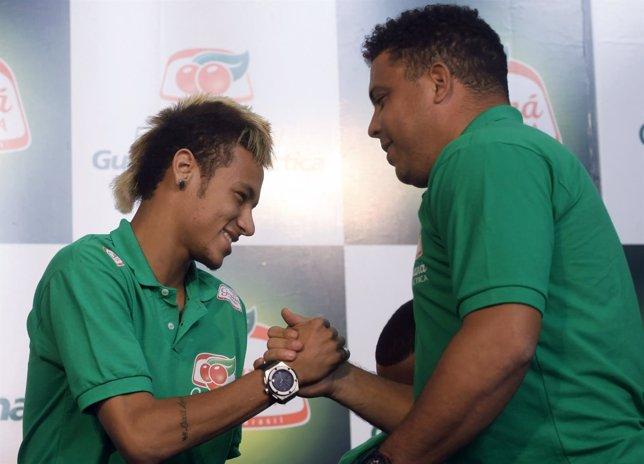 Neymar y Ronaldo