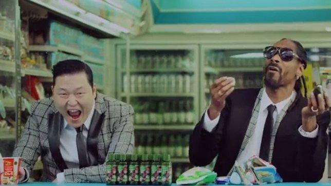Psy arrasa YouTube con Hangover