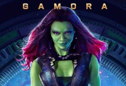Gamora, sexy y letal en el póster de Guardianes de la Galaxia
