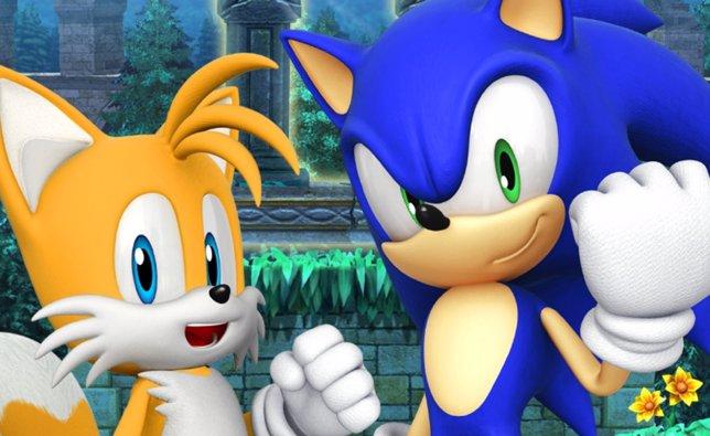 Sonic el erizo y su amigo Tails