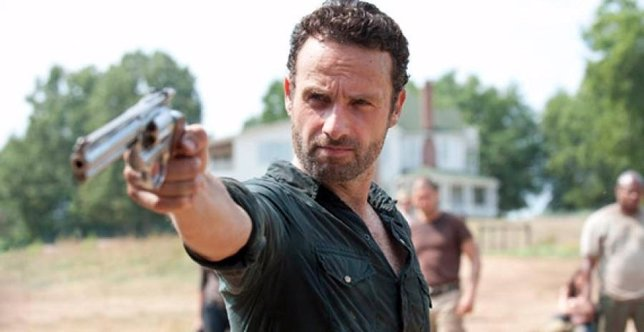 The Walking Dead: Rick (Andrew Lincoln)