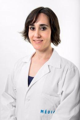 La investigadora del incliva, María Téllez