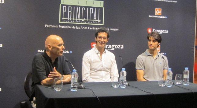 Rafael Campos, José Carlos Martínez y Moisés Martín.