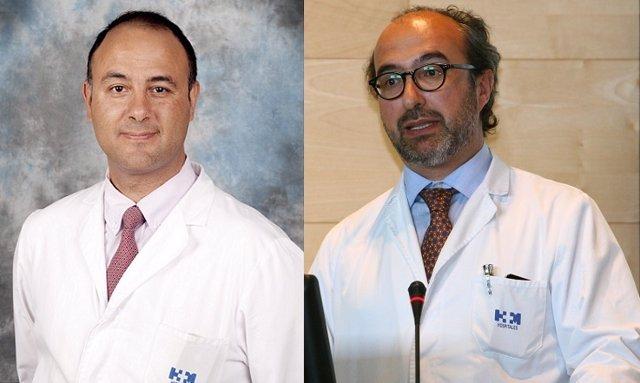 Emiliano Calvo y Manuel Hidalgo