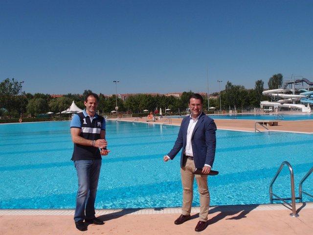 Las piscinas de las norias iniciar n la temporada de for Piscinas merino