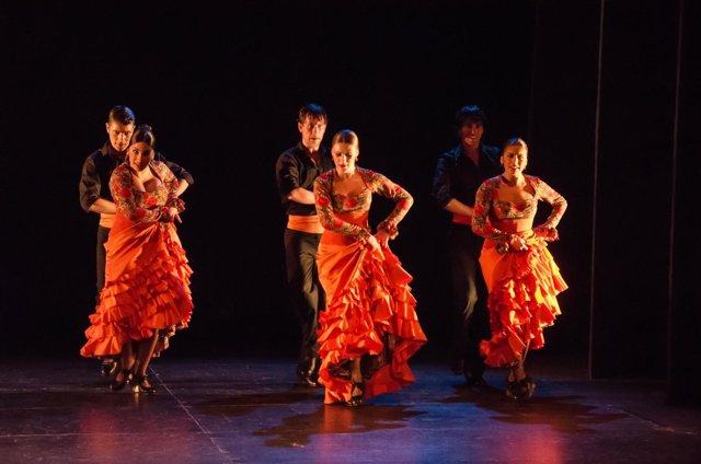 Ballet flamenco 'Silencios rotos' de la compañía 'Entredós'.