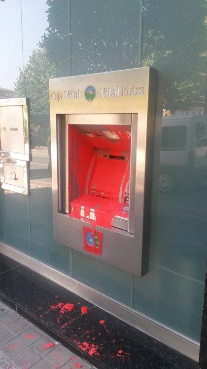 """PP condena los ataques a sedes bancarias en Amurrio (Álava)y pide a la Ertzaintza que """"persiga"""" a sus autores"""