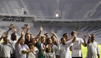 """Rousseff, tras apertura del Mundial: """"Los insultos no me van a intimidar"""""""