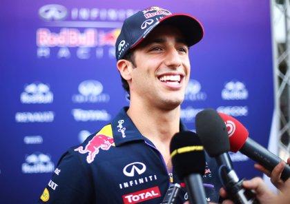 "Ricciardo: ""Es genial correr la carrera en casa de Red Bull"""