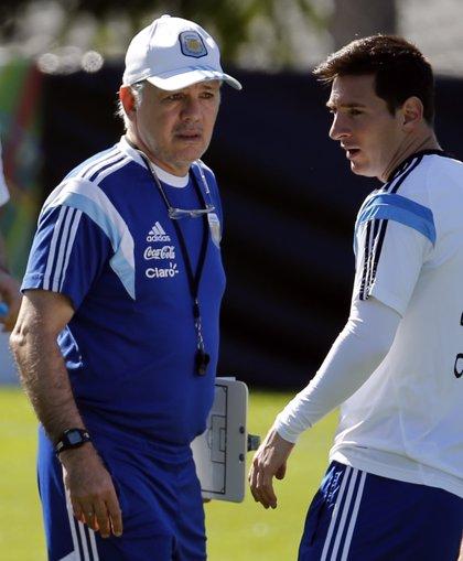 """Sabella: """"Hay que hacer valer las condiciones de Messi al cien por cien"""""""