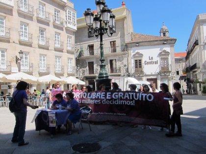 """Plataforma por el Derecho al aborto convoca en Vigo la segunda """"gran marcha"""" gallega en defensa de las mujeres"""