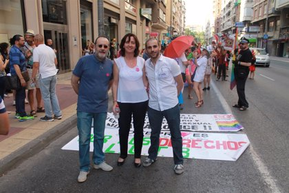 UPyD asiste a la manifestación del orgullo LGTB de este sábado en Murcia