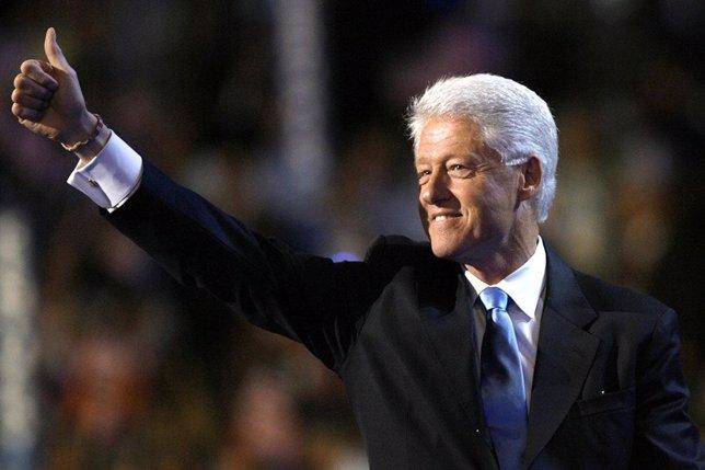 Bill Clinton en la convención demócrata