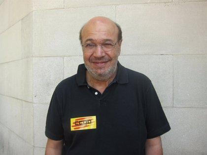 """Gallego (CC.OO.) ve """"enormemente injusto"""" el aforamiento de Juan Carlos I"""
