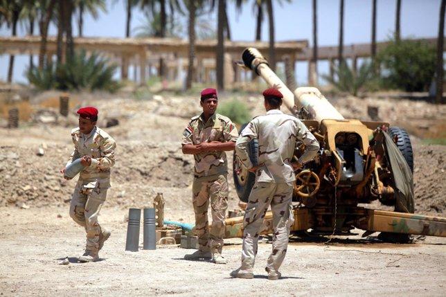 Soldados en Irak