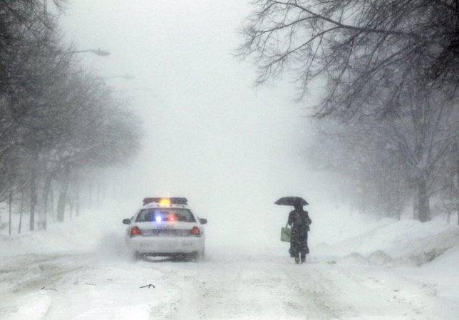 Temporal de nieve en EEUU