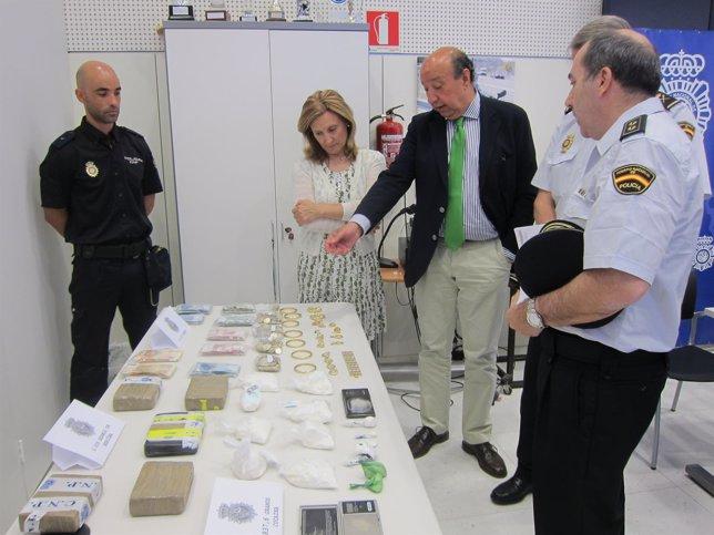 Drogas Incautadas En Operación Policial En Plasencia (Cáceres)