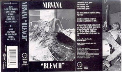 El primer disco de Nirvana cumple 25 años