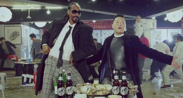 PSY y Snoop Dogg