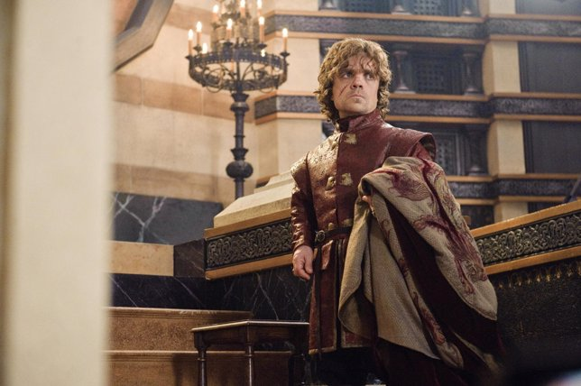 Tyrion en la tercera temporada de Juego de Tronos