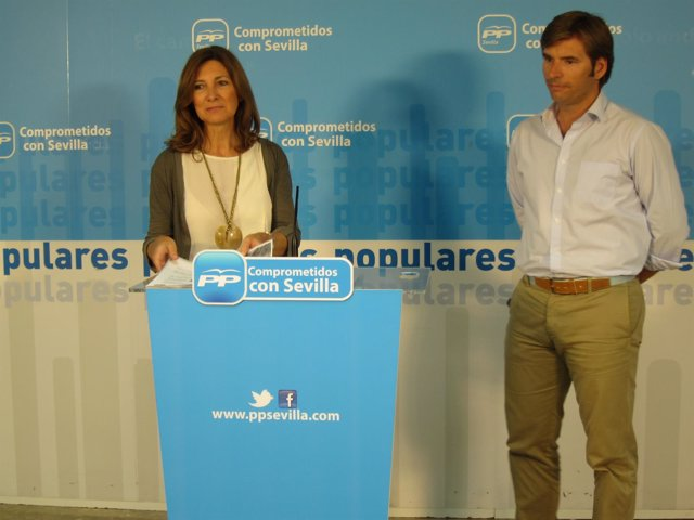 La parlamentaria del PP por Sevilla Alicia Martínez