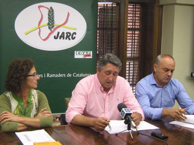 Francisco Boronat (Jarc),  Isabel Vidal y Juan Carlos Massot