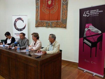 La Semana de Música Antigua de Estella acoge a The Hilliard Ensemble en su gira de despedida