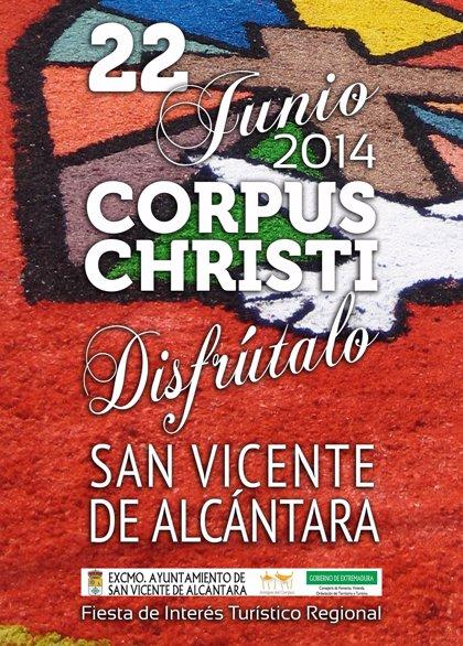 San Vicente de Alcántara celebra el domingo el Corpus Christi