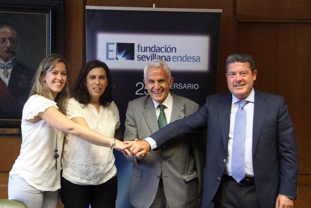 Fundación Sevillana Endesa iluminará el conjunto monumental de Gerena.