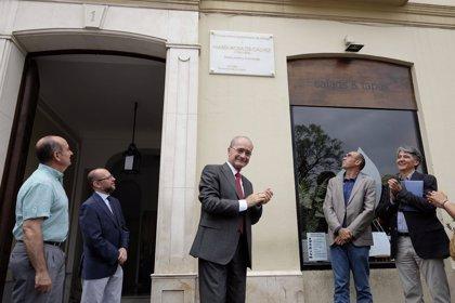 Málaga.- Cultura.- El Ayuntamiento de Málaga homenajea a la escritora María Rosa de Gálvez con una placa en La Merced