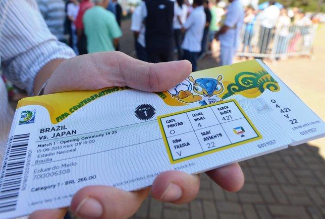 Entradas para el Mundial de Brasil