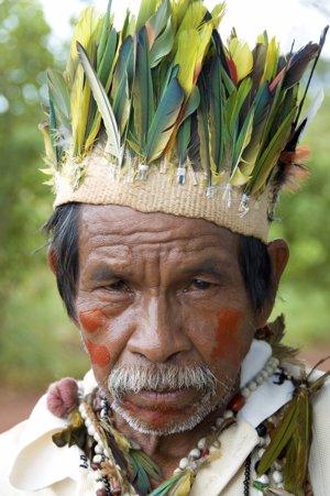 Hombre guaraní