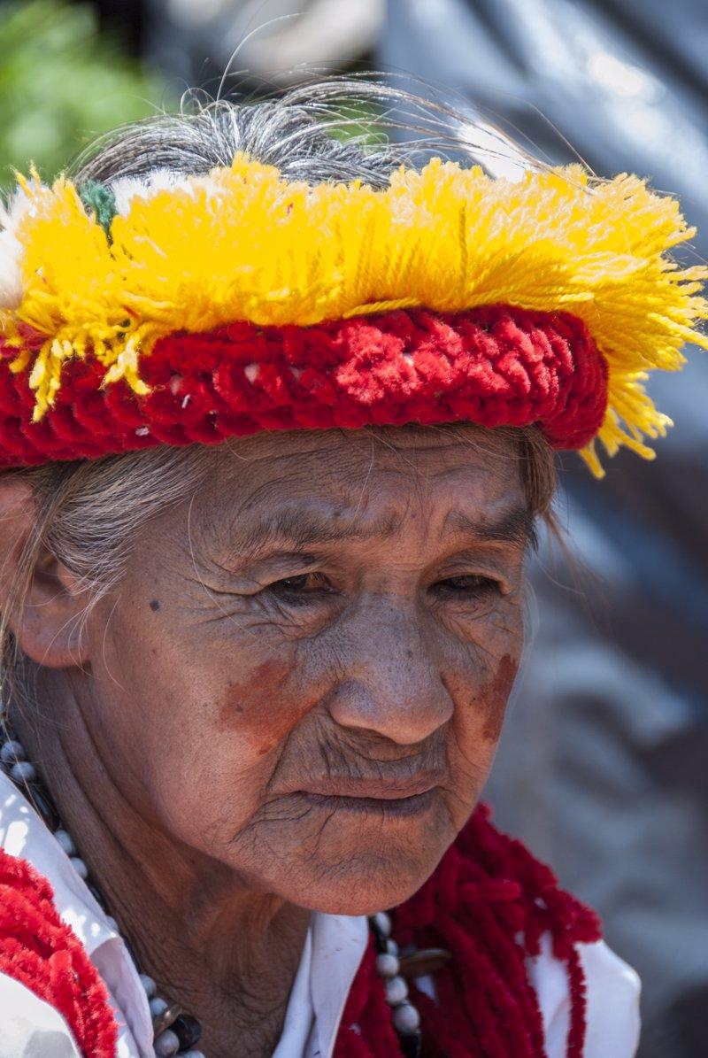 Anciana Guaraní