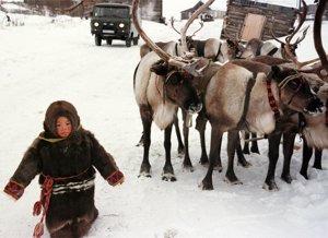 Una niña Khanty