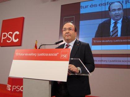 Iceta aspira al liderar el PSC pero no pretende presidir la Generalitat