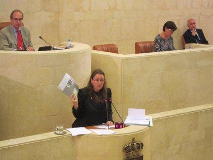 El Parlamento no pedirá la dimisión de la consejera Leticia Díaz por el rechazo del PP