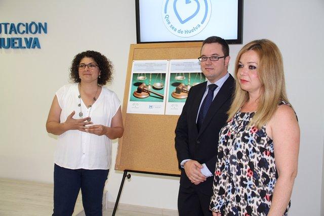 La diputada de Bienestar Social en Huelva, Rocío Cárdenas.